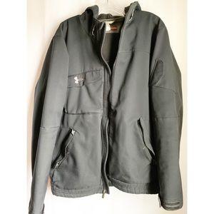 Men's Black Under Armour Jacket. Size Large.